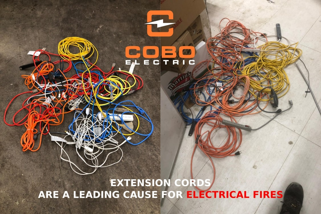Extension Cords are a Leading Cause for Electrical Fires